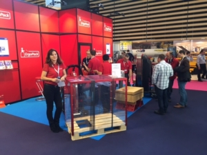 Salon Europack Euromanut Lyon 2015 Stand HMi MBS ErgoPack France