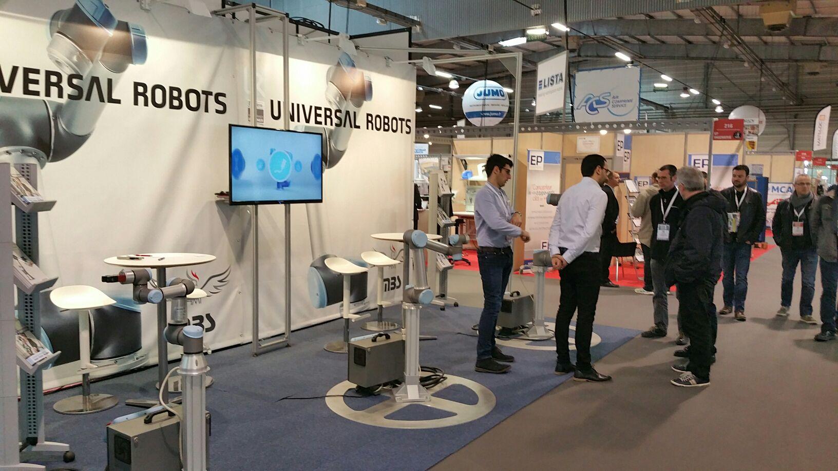 HMi-MBS vous présente Universal Robots au salon Industrie et Sous-traitance