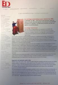 Emballage Digest conseil l'ErgoPack
