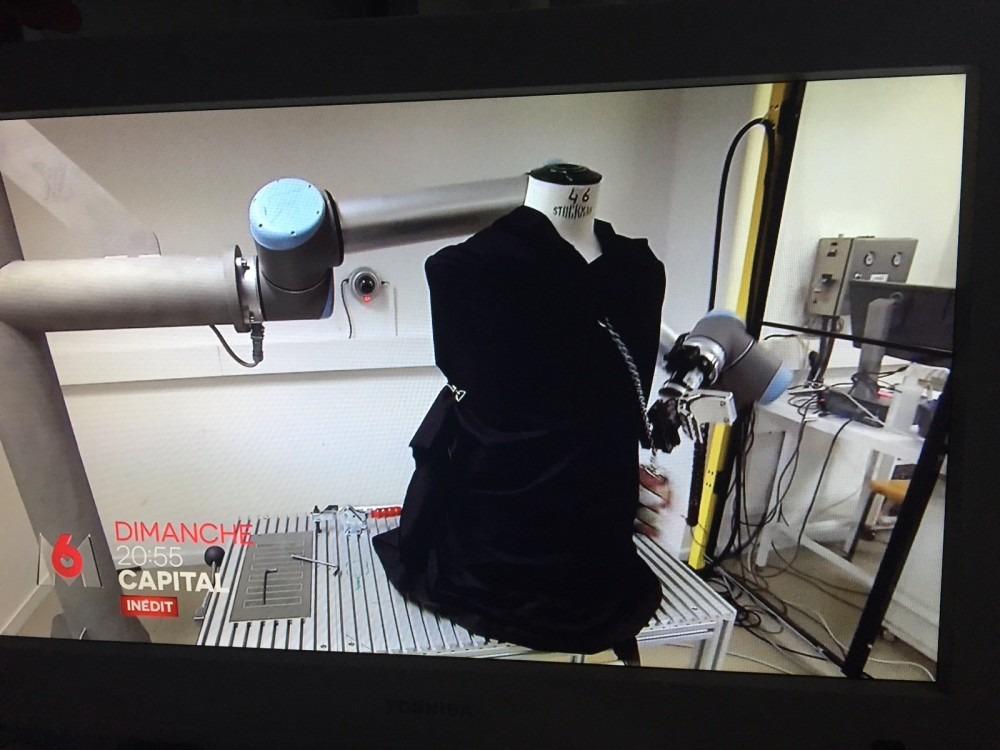 Universal Robots – HMi-MBS au service du luxe à la française
