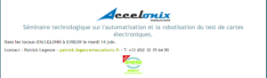 Séminaire Accelonix 14 juin 2016