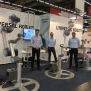 Nos experts cobotiques présentent Universal Robots au salon All4Pack
