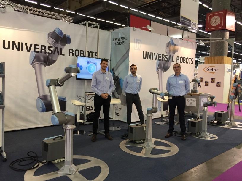 HMi-MBS – UNIVERSAL ROBOTS présent au salon All4Pack