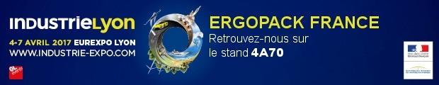 ErgoPack sera présent au salon Industrie Lyon