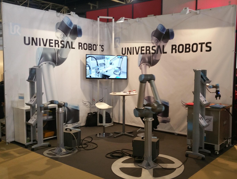Universal Robots au salon SEPEM de Douai