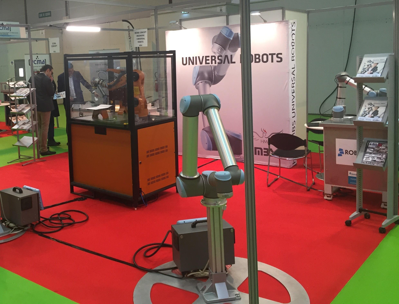 Universal Robots était présent au salon de Rennes