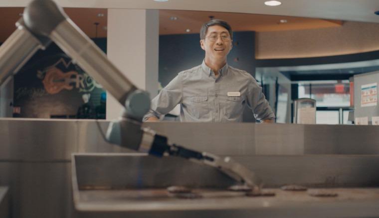 Flippy Robot – une nouvelle façon de cuisiner !