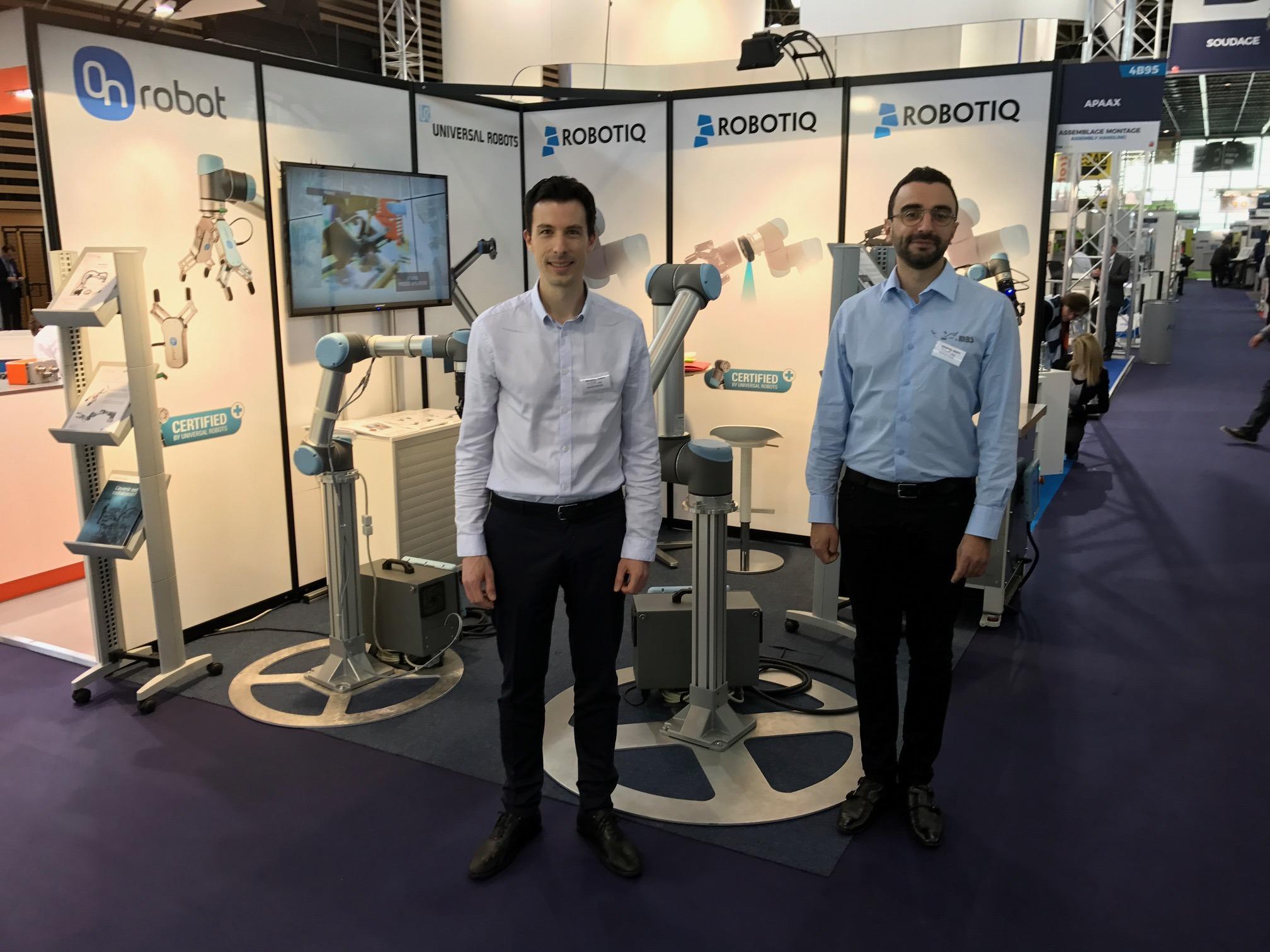 HMi MBS vous présente ses accessoires robots sur Industrie Lyon