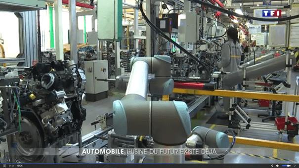 Universal Robots répond présent dans les usines du futur