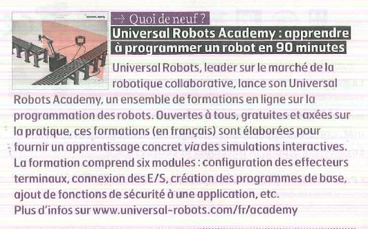 UNIVERSAL ROBOTS ACADEMY HMi MBS