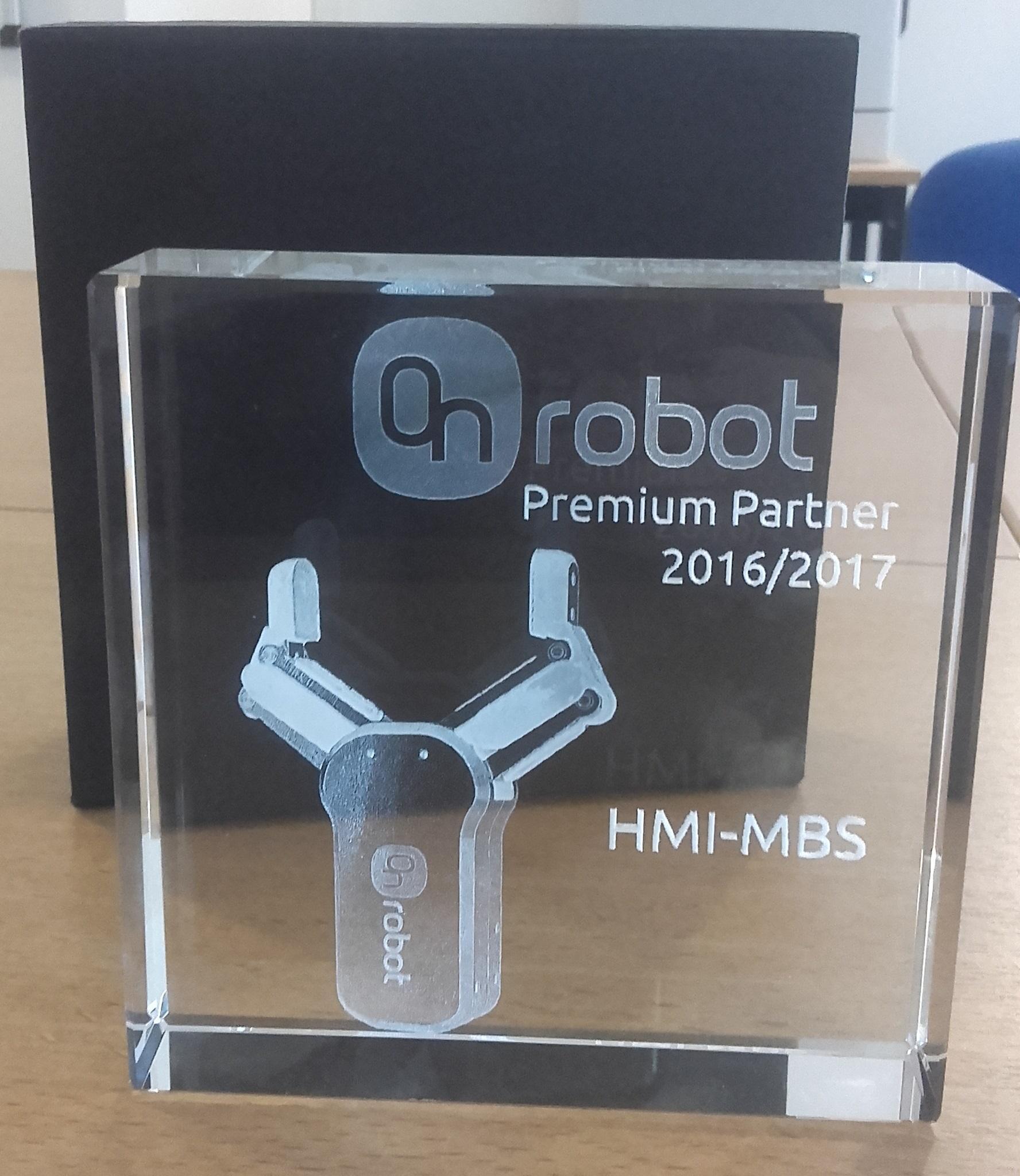 prix ON ROBOT PREMIUM PARTNER HMI
