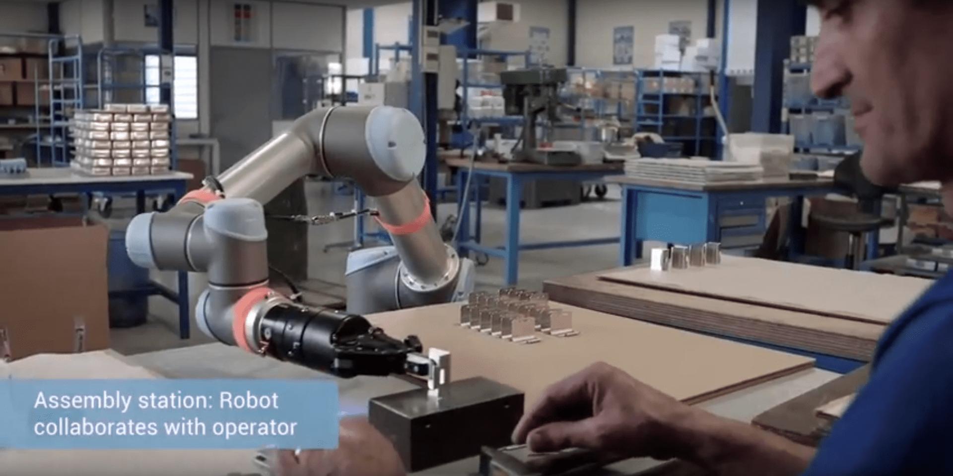 NICHROMINOX : Case story pour Universal Robots