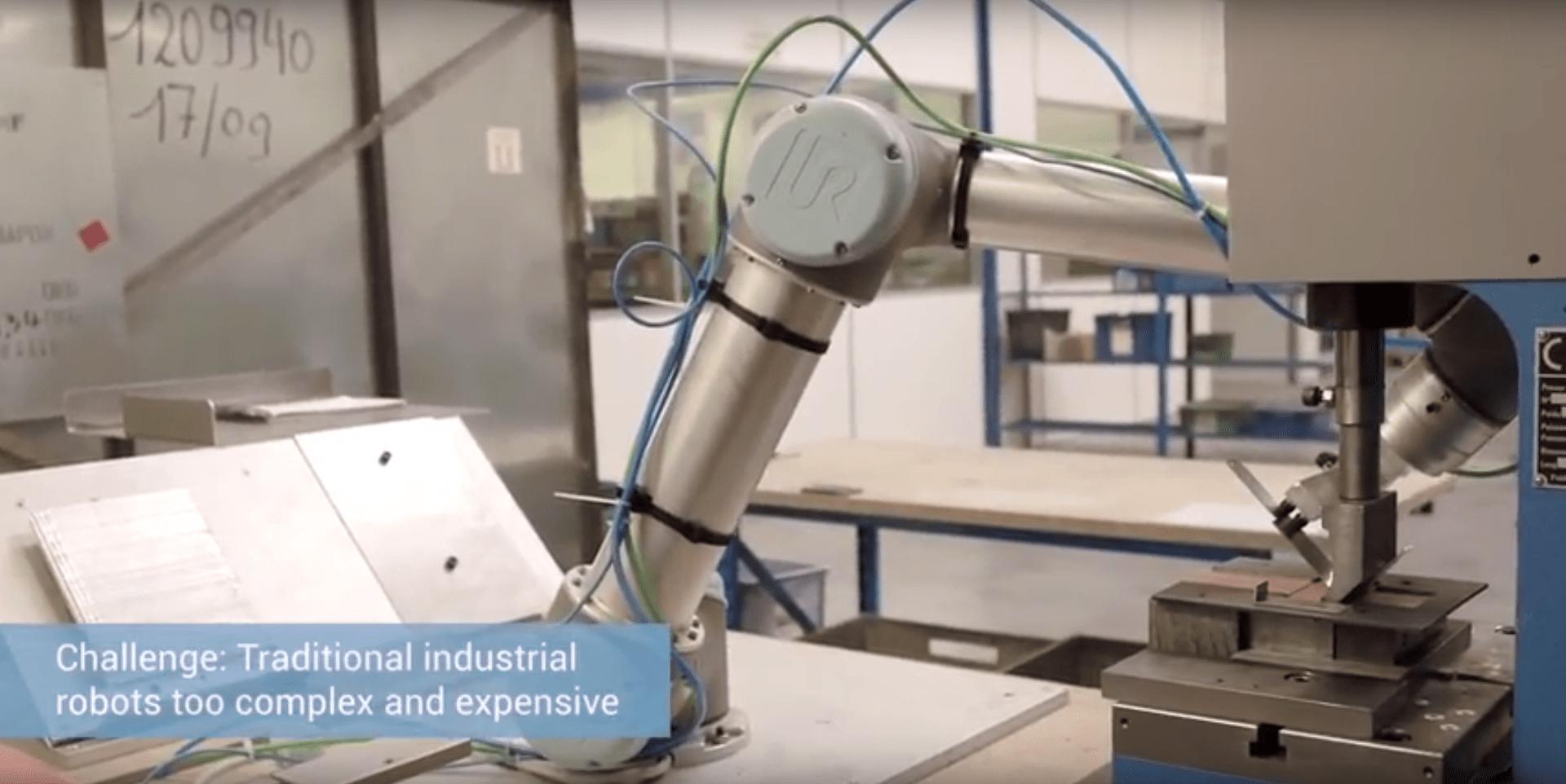 NICHROMINOX COBOT UNIVERSAL ROBOTS HMI MBS CASE STORY