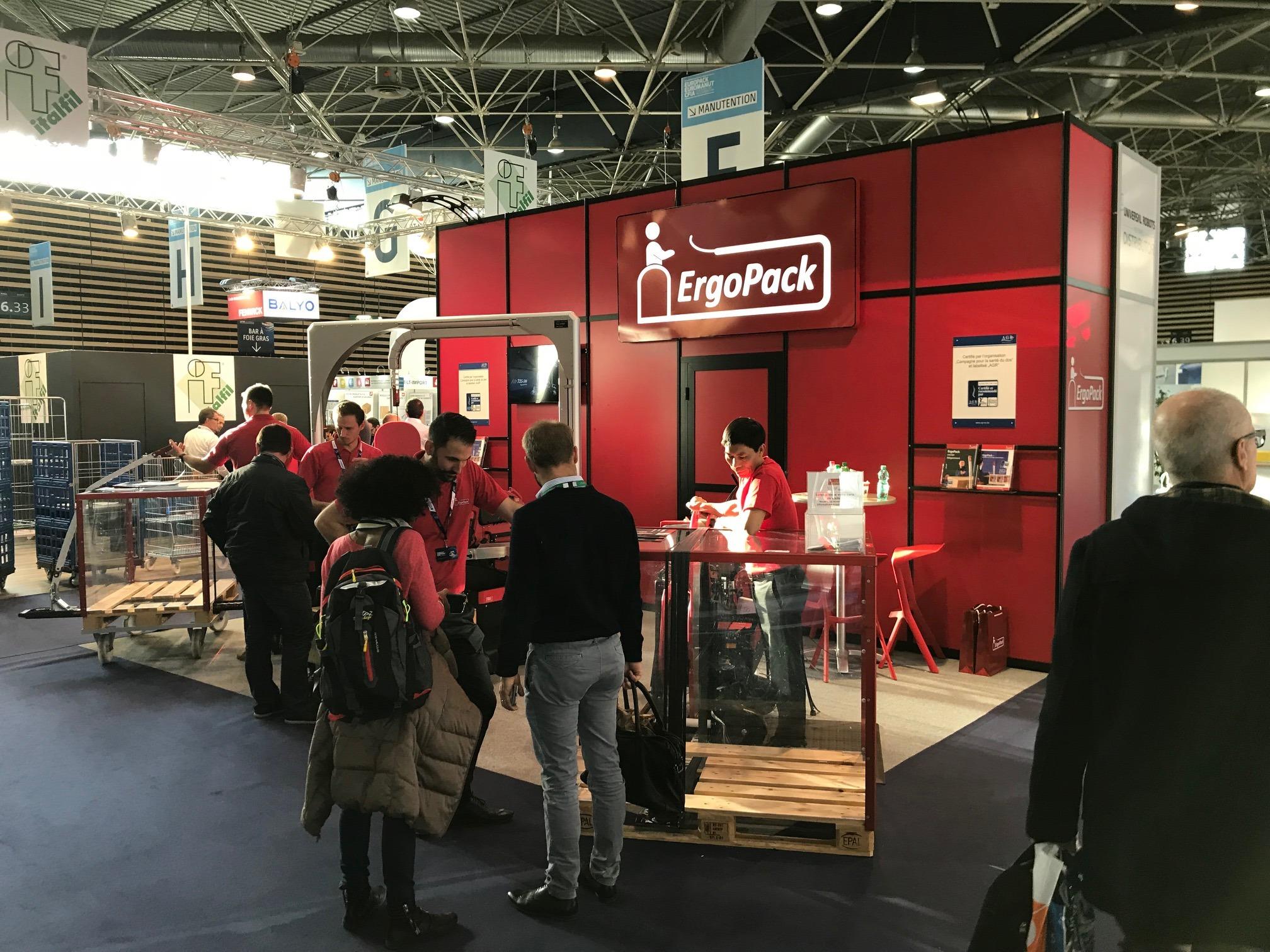 Salon EUROPACK EUROMANUT de Lyon : venez découvrir l'ErgoPack