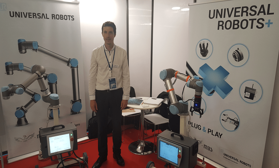 Universal Robots sur le Ridy