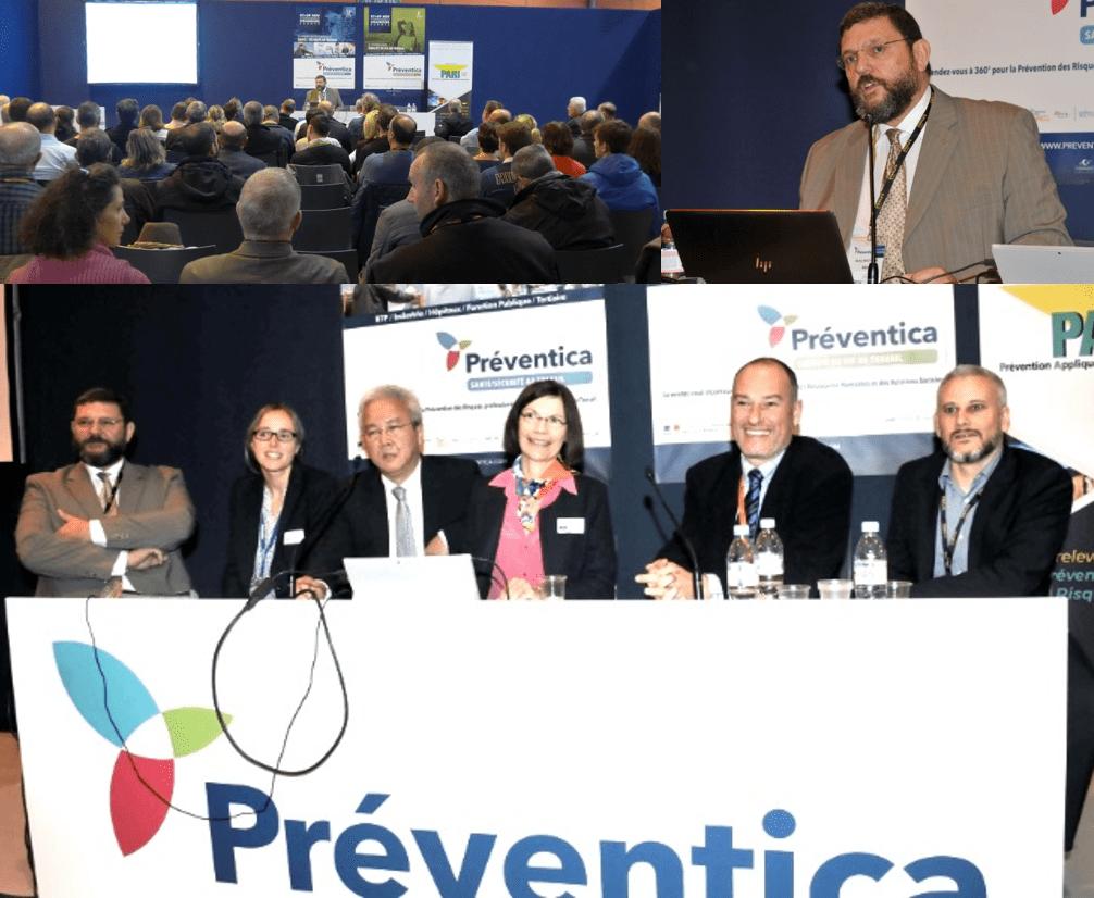 Préventica : conférence sur la robotique collaborative