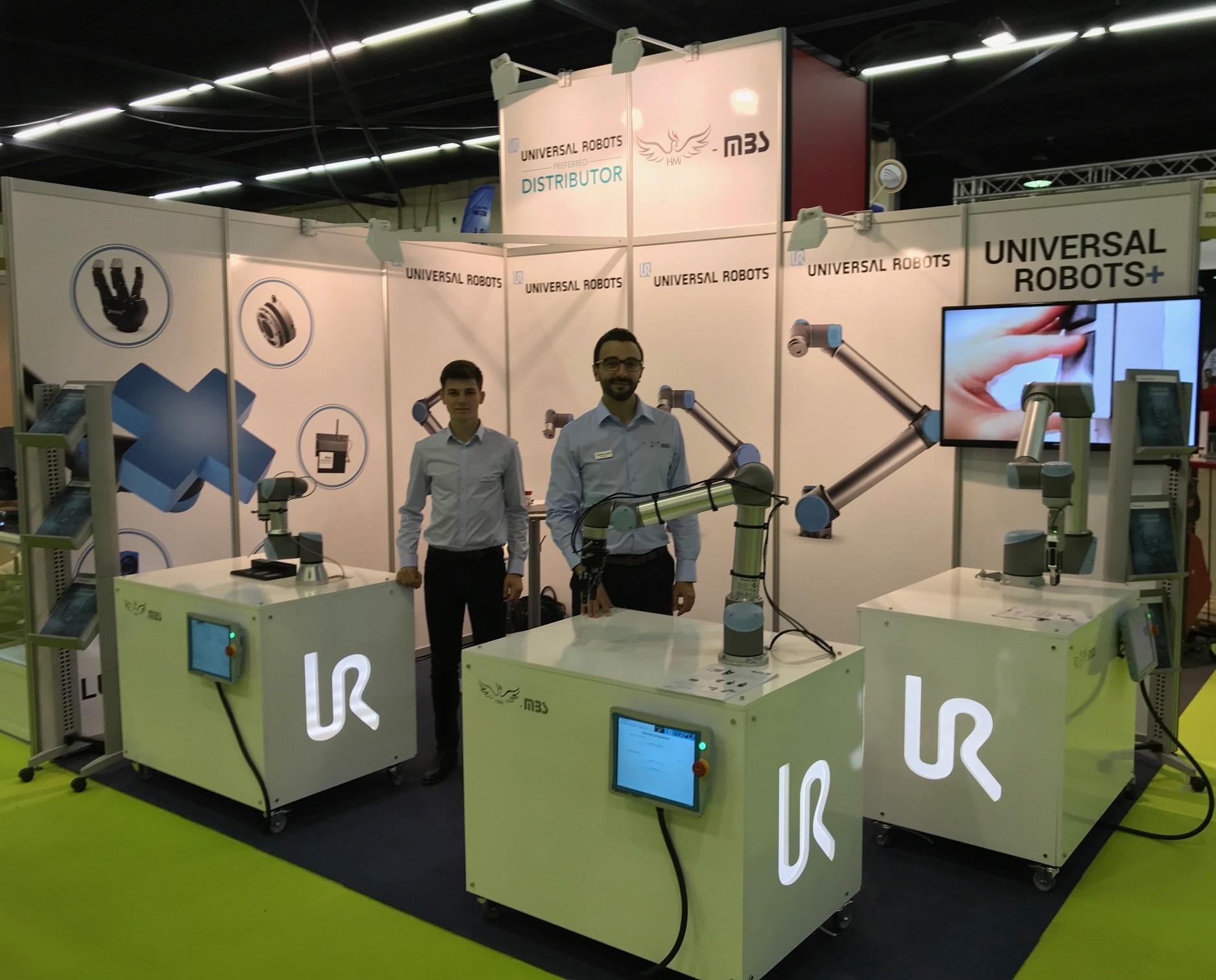 SEPEM ANGERS 2017 UNIVERSAL ROBOTS HMI MBS COBOT ROBOT COLLABORATIF