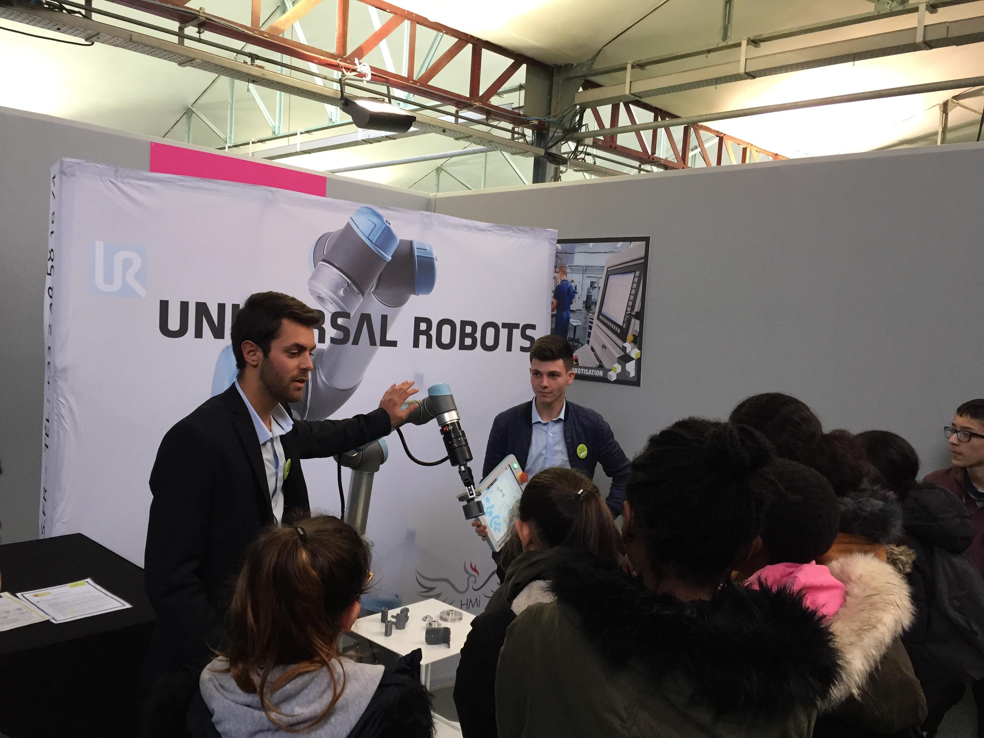 Universal Robots au salon SMILE