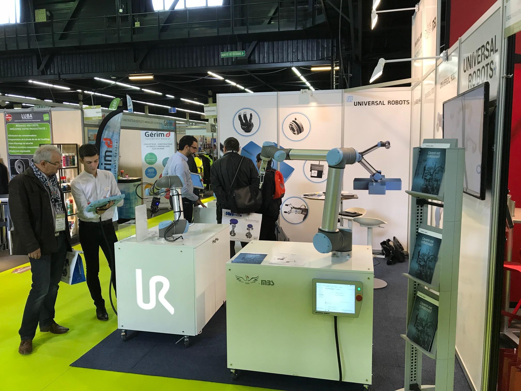Le SEPEM accueille les robots collaboratifs UR !