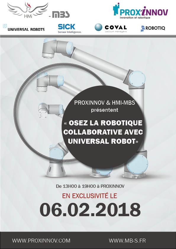 Osez la robotique collaborative avec UR !