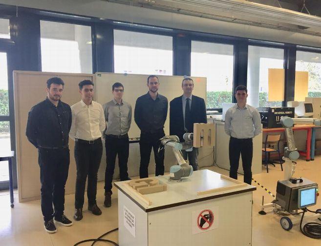 L'IUT de Chartres a testé les robots UR