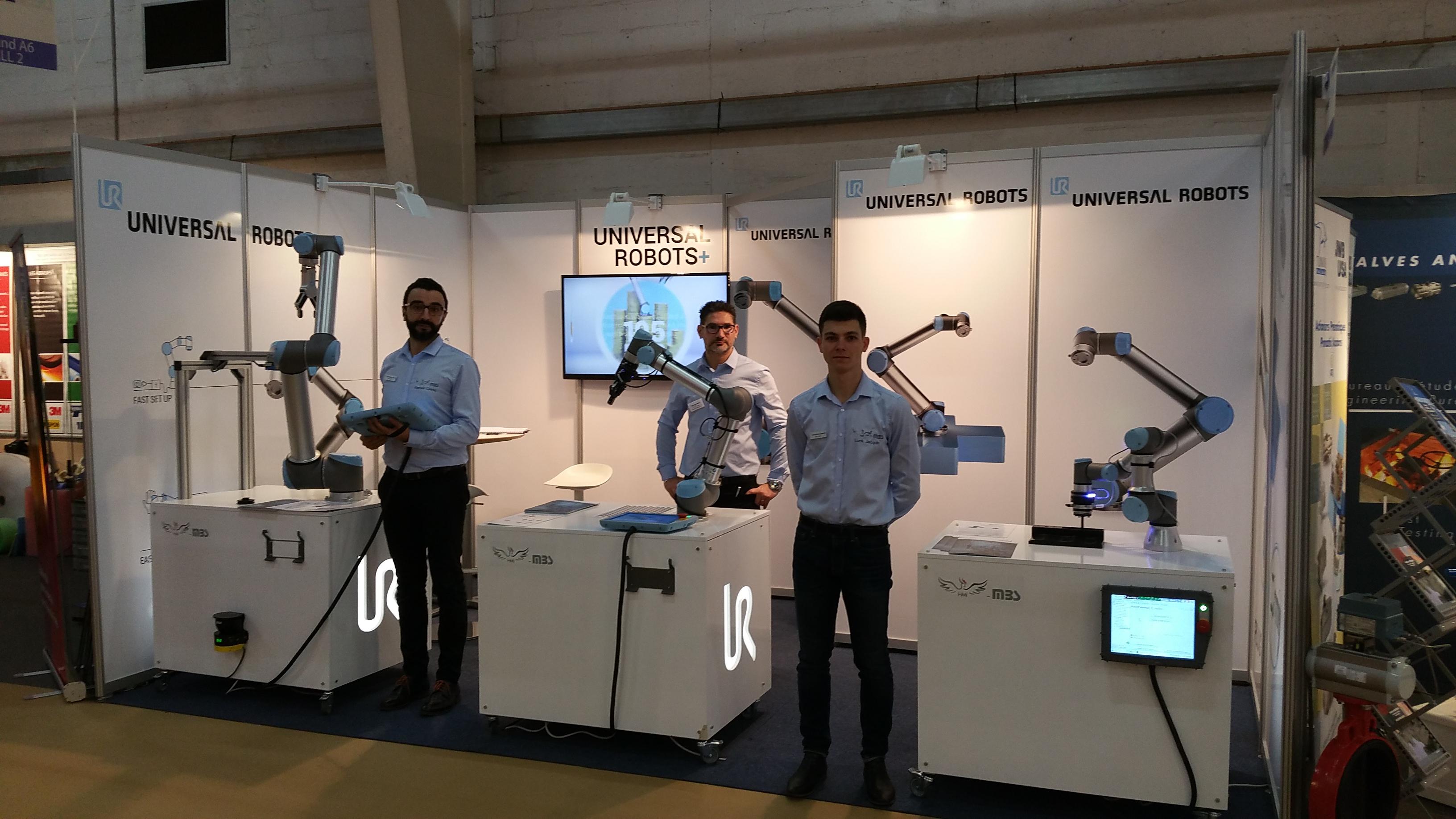 Les robots collaboratifs font leur show au SEPEM ROUEN !