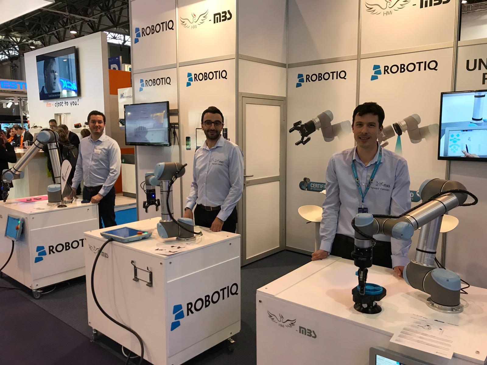 Top départ du salon Industrie Paris pour Robotiq !