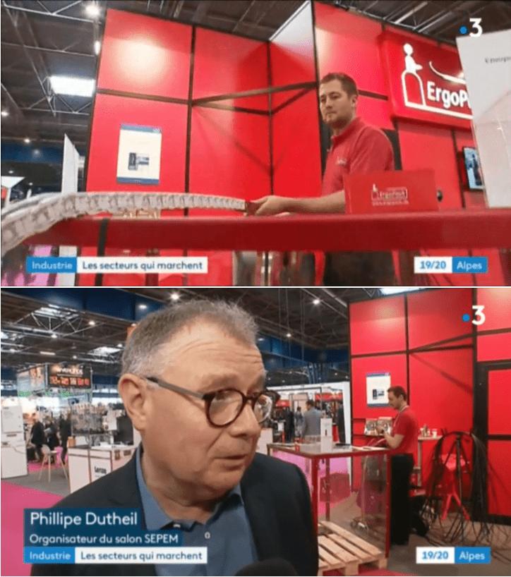 France 3 : reportage sur le SEPEM