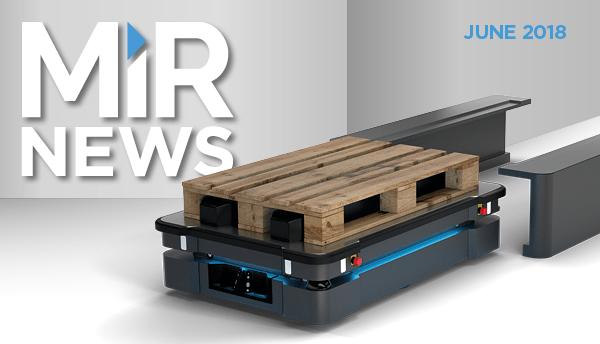 Nouveau robot mobile : le MiR500 !
