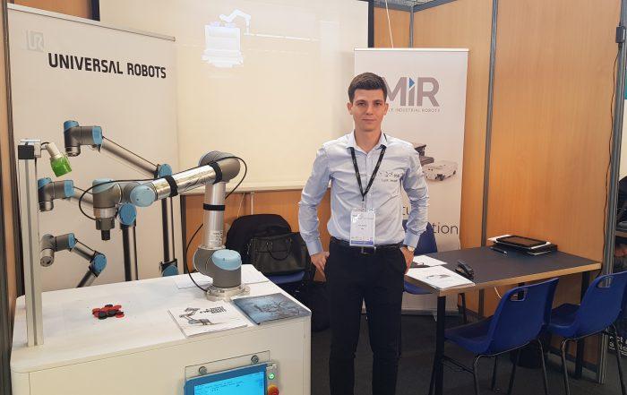 Universal Robots et MiR au salon Robot4Manufacturing !
