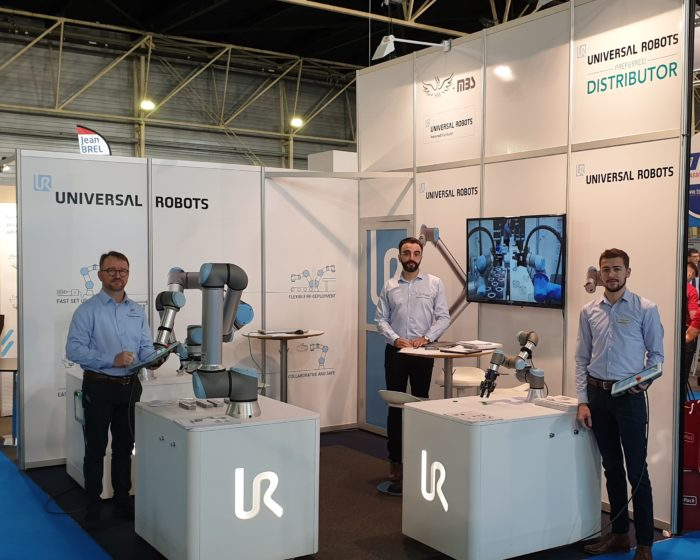 Les cobots Universal Robots au salon SEPEM de DOUAI