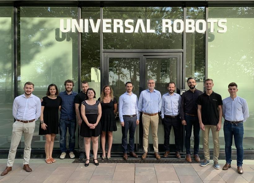 Visite chez Universal Robots