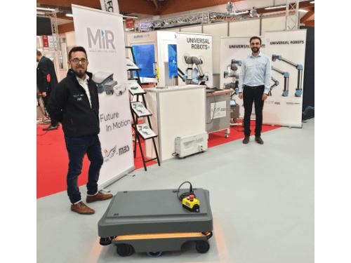 Les robots MiR et Universal Robots au SIANE