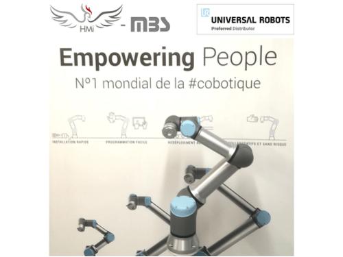Réception du nouveau robot UR : l'UR16e