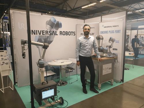 Universal Robots au salon du Ridy