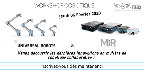 Workshop cobotique du 06 Février 2020