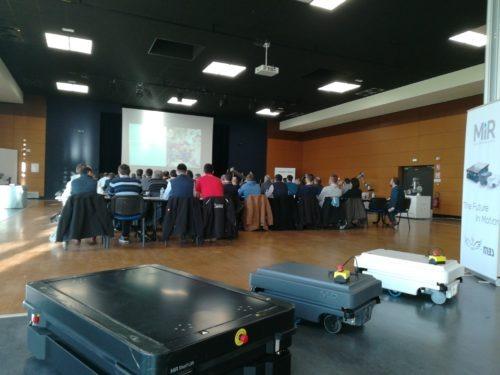 Conférences à notre Workshop Cobotique