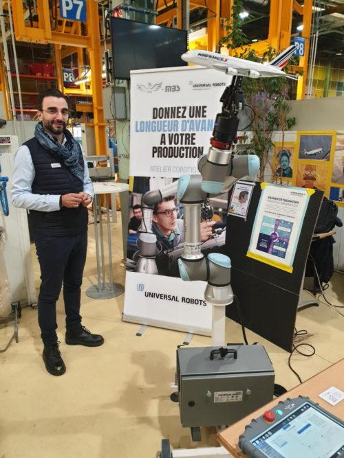 Universal Robots au forum des nouvelles technologies d'Air France
