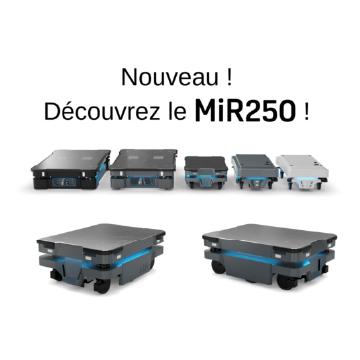 Sortie du robot mobile MiR250 !