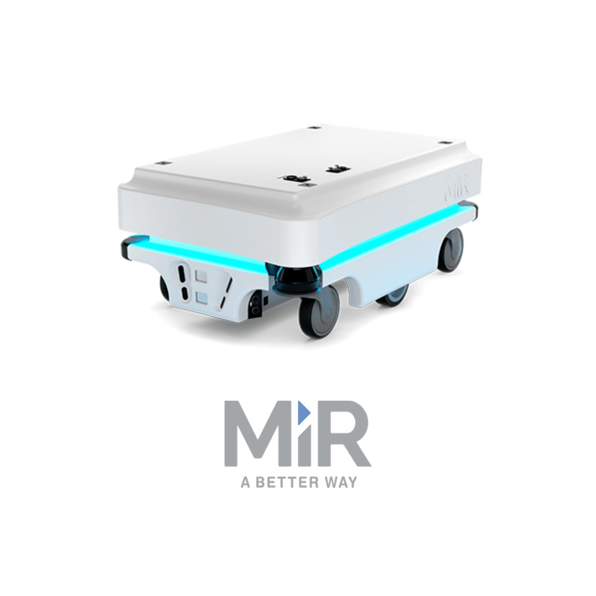 MiR100 robot mobile industriel de la gamme d'amr MiR