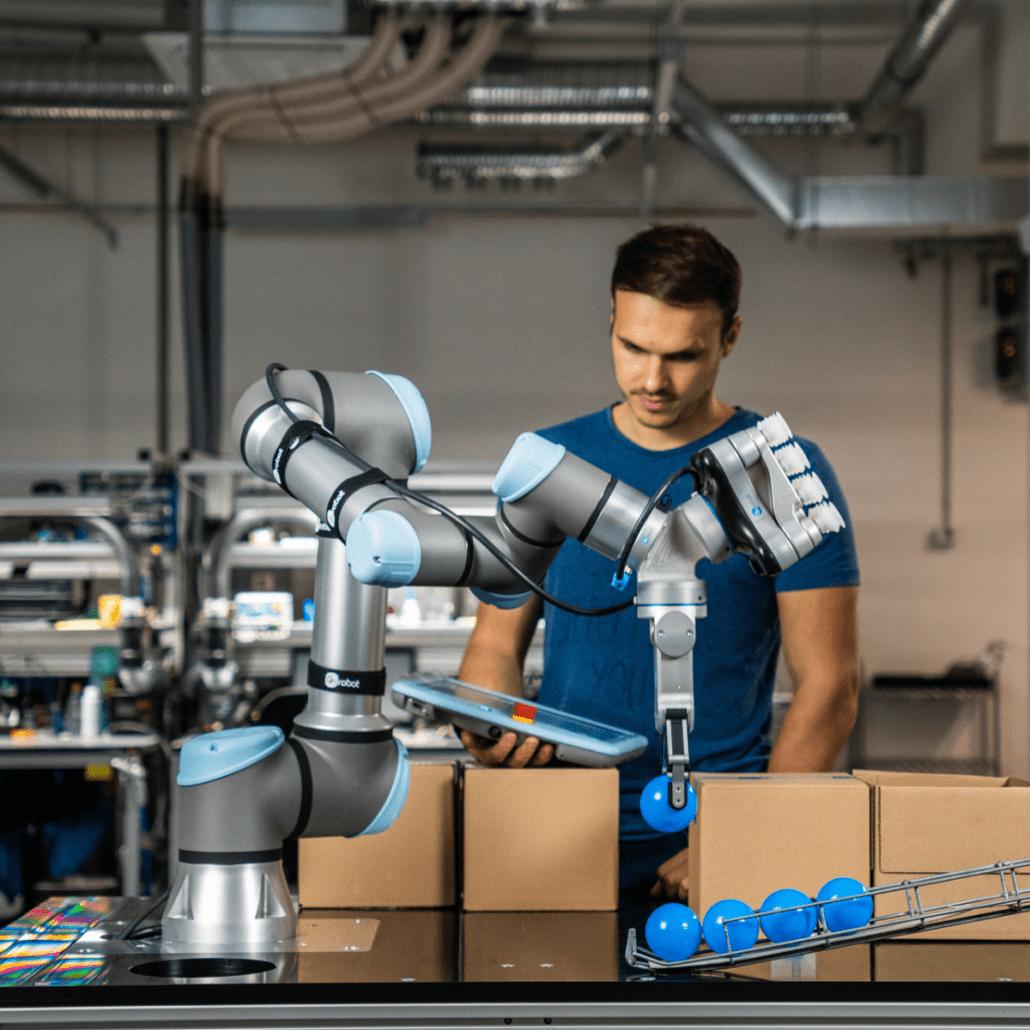 ONROBOT QUICK CHANGER UNIVERSAL ROBOTS HMI MBS
