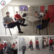 cercleuse ergonomique ergopack équipe visite hmi mbs partenariat